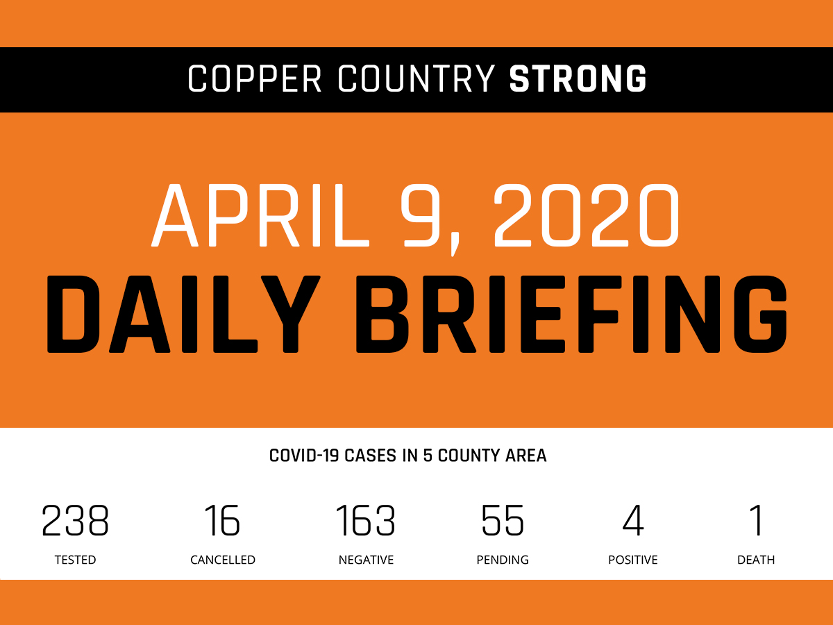 April 9 Daily Briefing