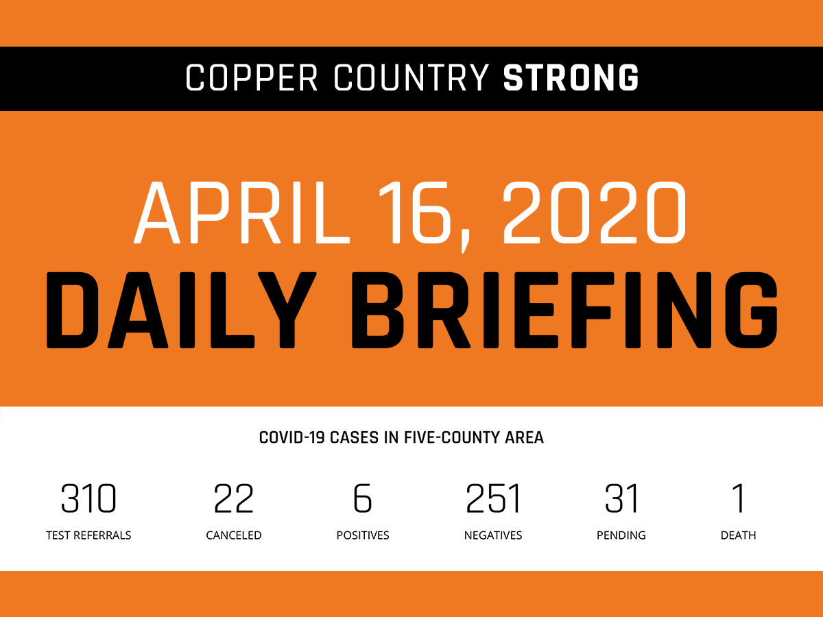 April 16 Daily Briefing