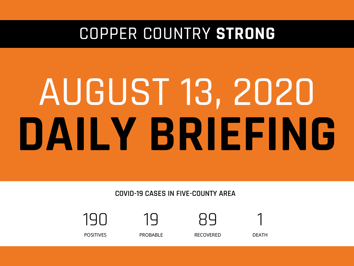 Daily Briefing - August 13, 2020